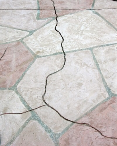 Disadvantages of Cracked Flagstone