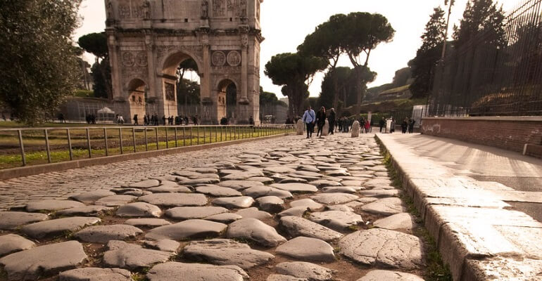A brief history of pavers