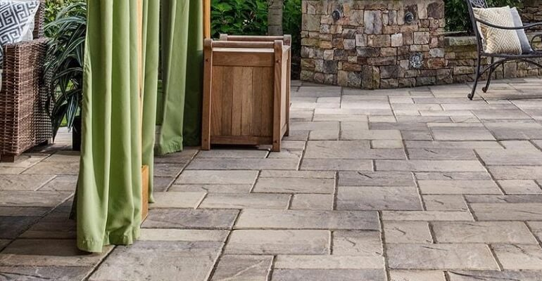 Outdoor pavers are economical