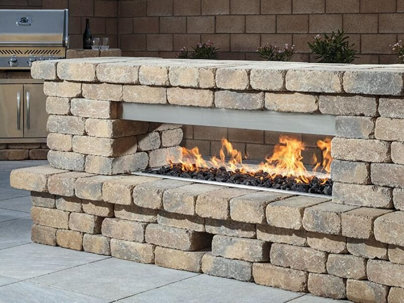 Belgard Weston Stone Fire Features