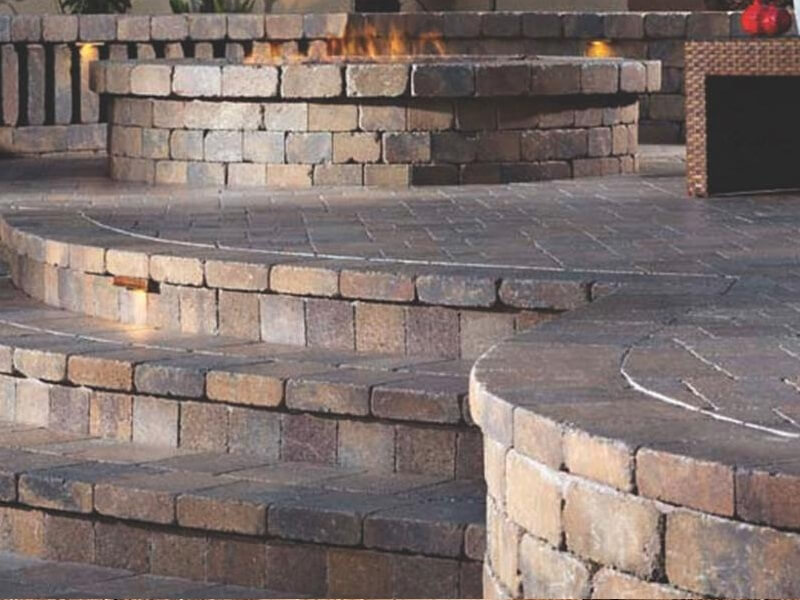 Belgard Weston Stone Retaining Wall