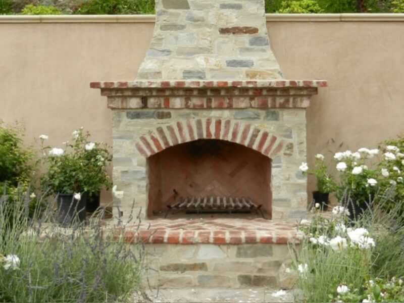 Orco SmartFire ™ Garden Fireplace