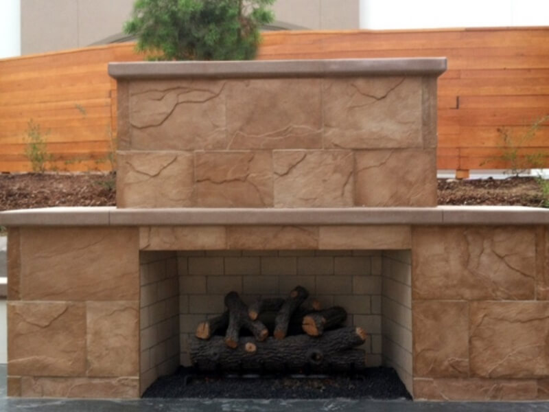 Orco Vent Free Fireplace